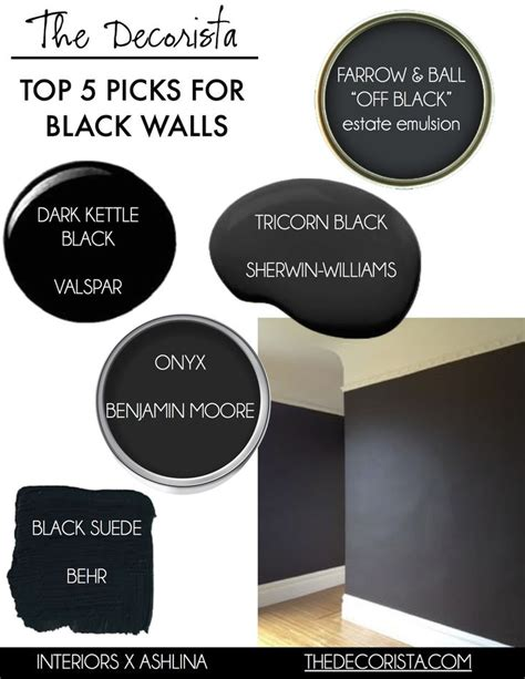 black wall paint best 25 black master bedroom ideas on