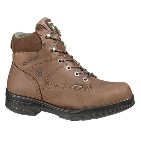 sears work boots wolverine durashock steel toe work boots get the done