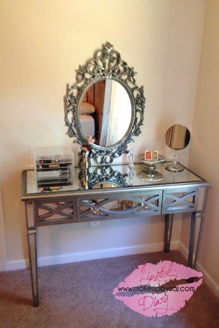 glam mirrored vanity stool glam bedroom pinterest 28 best glamour girl makeup accessories images on