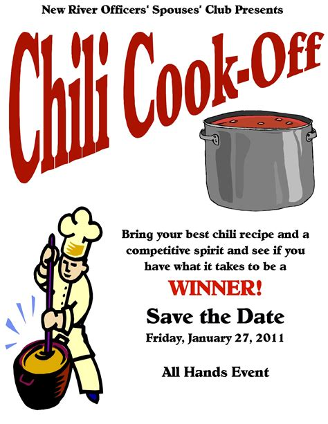 chili cook off ideas flyer images