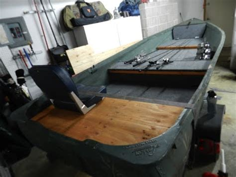bass boat vs jon boat how to v hull jon boat conversion youtube