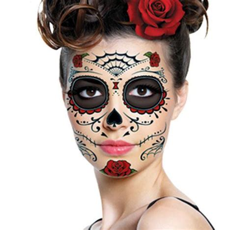 temporary face tattoos halloween the nerve the dead and the on