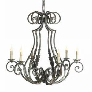 Chandelier Style Ceiling Fans Wrought Iron Finish Siena Style Chandelier