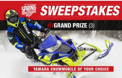 Yamaha Sweepstakes - yamaha 2019 spring power surge sweepstakes sun sweeps
