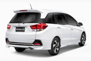 Honda Mobilio Updated Upping The Honda Launches Mobilio For