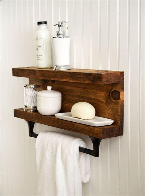 25 best ideas about bathroom shelf decor on