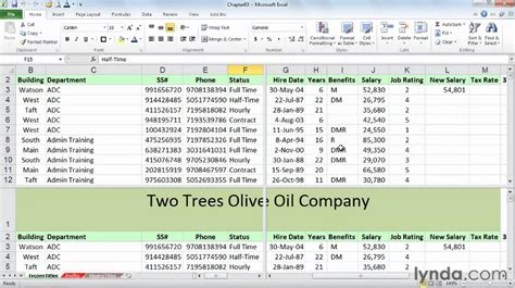 excel tutorial and shortcuts excel shortcuts splitting the screen and freezing titles
