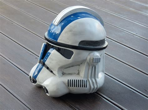 How To Make A Clone Trooper Helmet Out Of Paper - wars clone trooper helmet commander bly