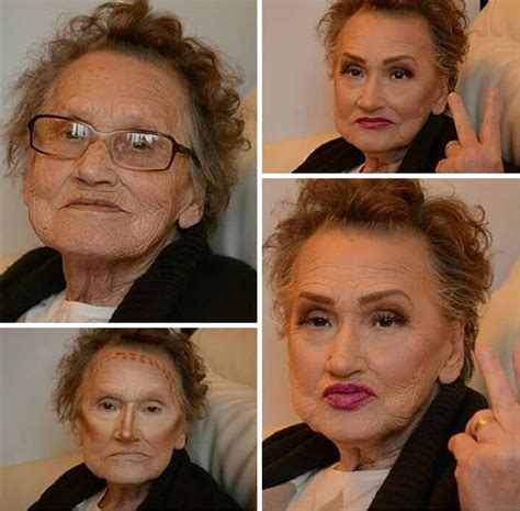 Makeup Nonna trucca la nonna il risultato 232 assurdo guardate il