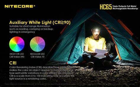 New Product Announcement Nitecore Hc65 Triple Light Light Source Coupon Code