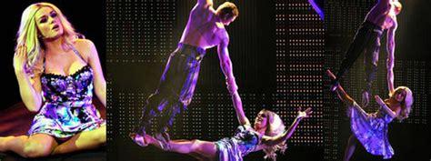 katherine jenkins turns acrobat express yourself