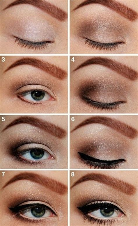 tutorial eyeshadow brown 14 stylish smoky eye makeup tutorials pretty designs
