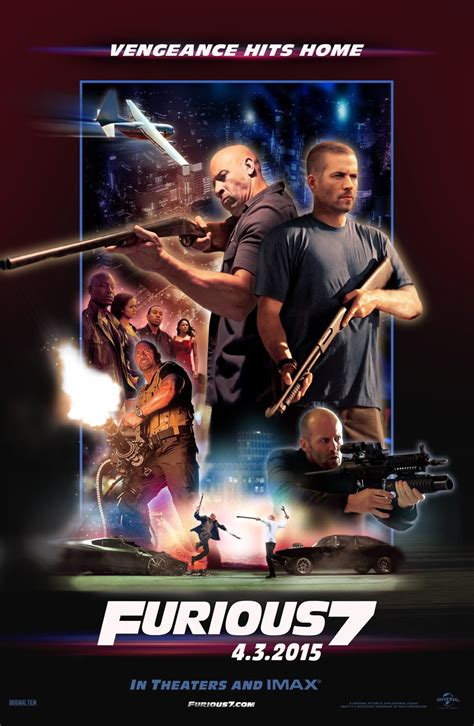 movie poster fast and furious 7 review fast furious 7 electric shadows