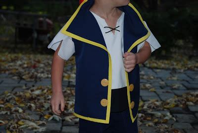 pattern for jake and the neverland pirates costume between the toys jake and the neverland pirates costume