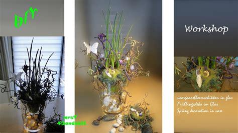 diy fr 252 hlingsdeko blumendeko im glas osterdeko i voorjaar