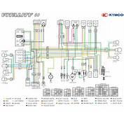 Kymco Agility 50 Wiring Diagram