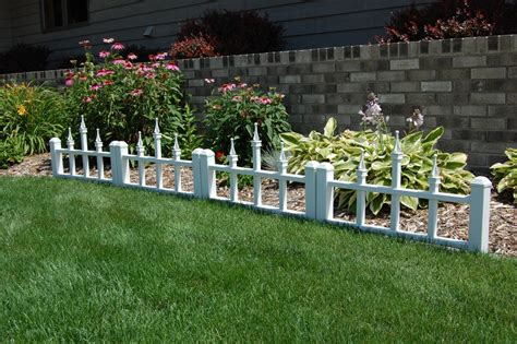 Garden Border Fence Ideas Garden Edging Fence Jbeedesigns Outdoor Garden Edging Fence Version