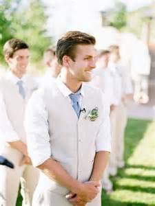 Backyard Wedding Groom Attire Stylish And Neat Groom Summer Wedding Attire