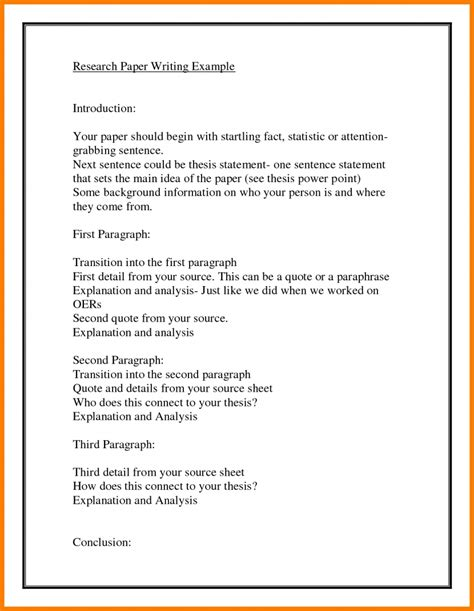 Introduction Paragraph Exle Research Paper World Of Exle Introduction Paragraph Template