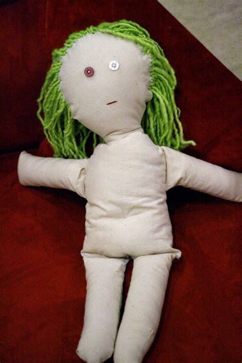 rag doll outline the basic rag doll pattern also comes with a drop waisted