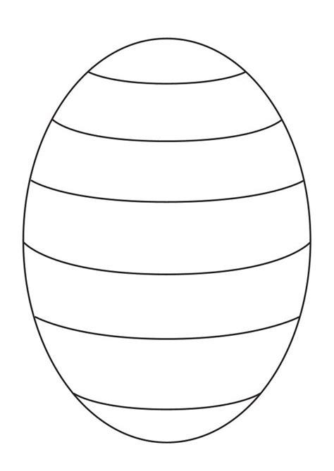 easter egg template blank easter egg template to create your own patterns for