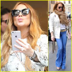 Lindsay Lohan Day Pass To Shop by Lindsay Lohan Spends A Day In Italy Shopping