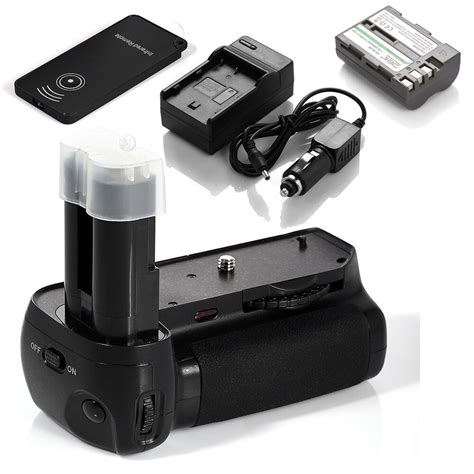mb d80 mb d90 battery grip for nikon d90 d80 en el3e battery charger ebay