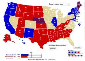 us election 2016 delegate map my 2016 presidential election electoral map prediction