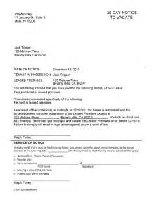 notice to vacate letter to tenant template maryland notice to vacate ez landlord forms
