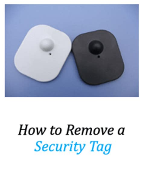 security tag remover