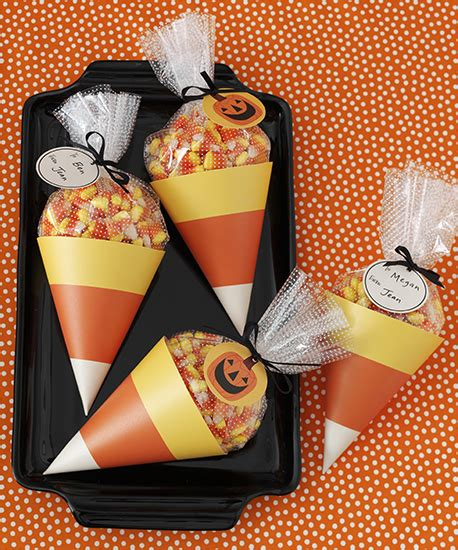 martha stewart crafts animal masquerade collection halloween candy corn treat bags