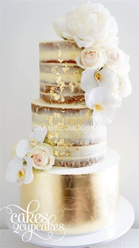 hochzeitstorte gold 45 and wedding cakes graceful inspiration
