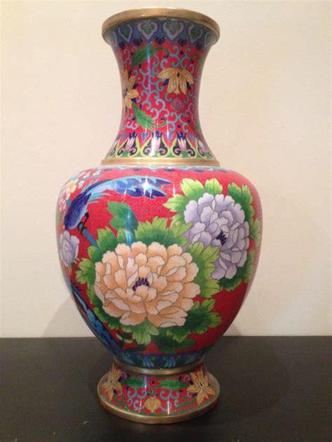 vase en cuivre 201 maill 233 cloisonn 233 ancien asiatique chine