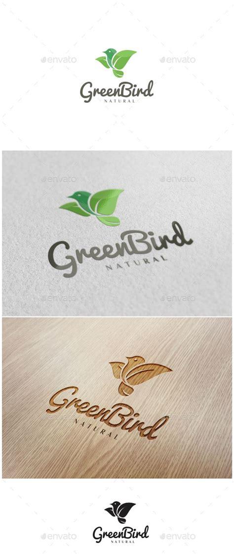 theme based names green bird logo