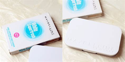 Maybelline White Superfresh Lasting Uv Cake Powder travel lifestyle thechency s diary makeup maybelline white superfresh