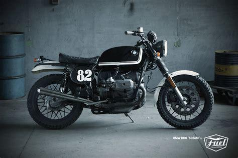 bmw motorcycle scrambler scramblertt bmw r100 scrambler fuel bespoke motorcycles