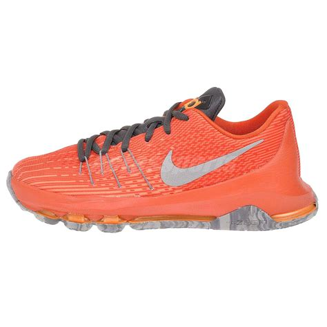 boys orange basketball shoes nike kd 8 gs youth boys basketball shoes orange