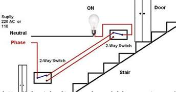 electrical technology stair wiring wiring diagram or how to a l from two