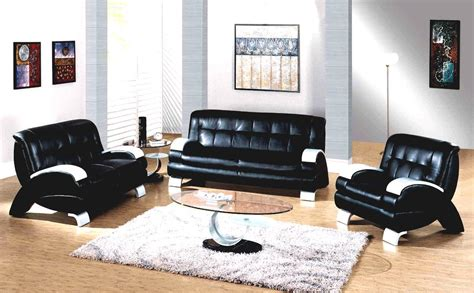 learn how to decorate using black leather living room
