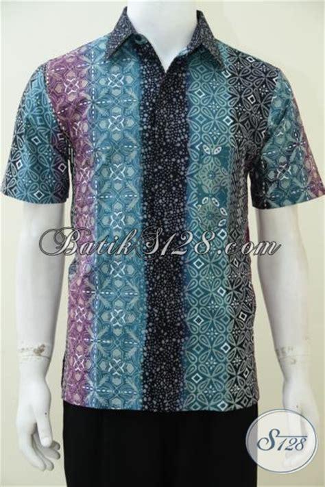 desain baju batik lengan pendek busana batik pria desain lengan pendek baju batik solo