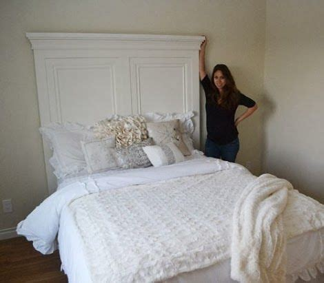 ana white build  tall panel headboard queen