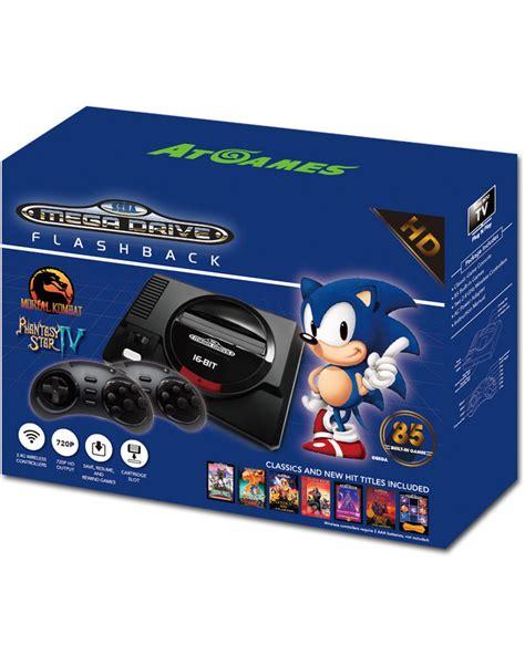 console sega mega drive sega mega drive flashback hd console retro world of