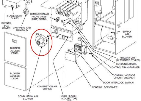 furnace parts diagram i a lennox 90ugf furnace this unit is about 9 years