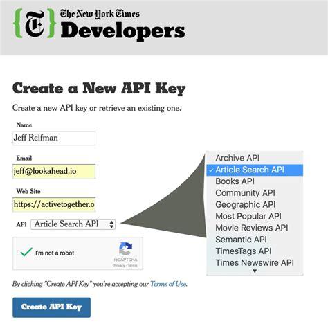 tutorial yii italiano using the new york times api to scrape metadata