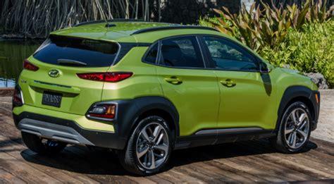 Hyundai Kona 2020 Colors by 2020 Hyundai Kona Colors Release Date Redesign Price