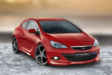 opel irmscher frankfurt preview irmscher sports up the new opel astra gtc