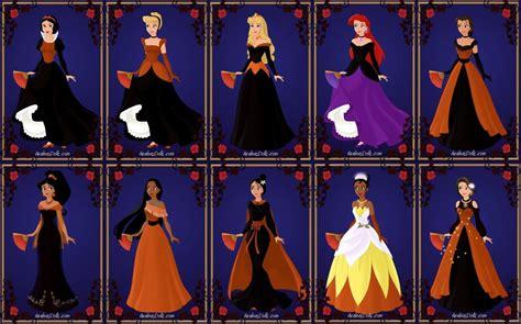 imagenes de halloween disney halloween disney princesses by arielxjim08 on deviantart
