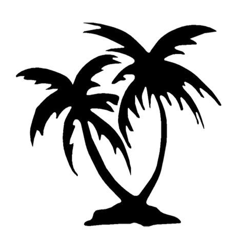 Auto Logo Palme by Palm Trees Die Cut Vinyl Decal Pv839
