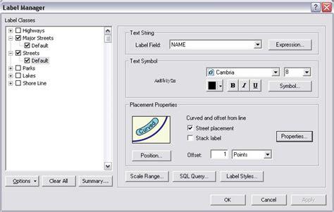 arcgis maplex tutorial esri arcwatch april 2008 faster and better labels