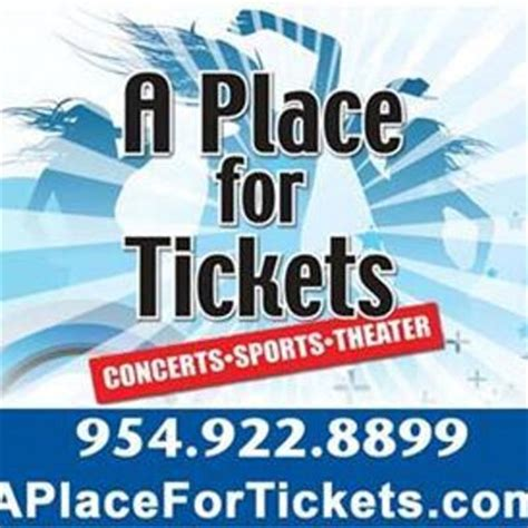 A Place Tickets A Place For Tickets Aplace4tickets